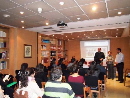 Bienvenida de los Alumnos en Prácticas Tuteladas de Farmacia convocatoria Octubre 2012.