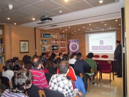 Bienvenida de los Alumnos en Prácticas Tuteladas de Farmacia convocatoria Febrero 2013.
